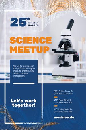 science meetup Pinterest – шаблон для дизайну