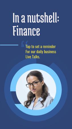 Plantilla de diseño de Business Coaching Offer with Businesswoman Instagram Story