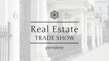 Real Estate Tradeshow Ad with Luxury Facade