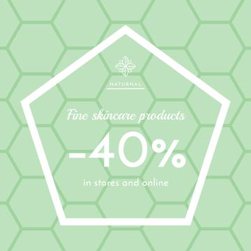 Skincare products Sale Ad