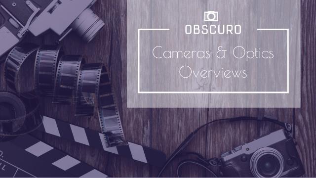 Vintage Film Cameras on Wooden Board Youtube Design Template