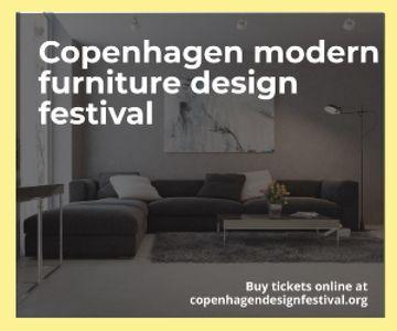 Copenhagen modern furniture design festival