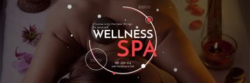 Wellness spa website Ad