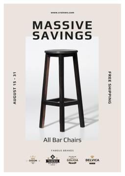 Bar Chairs Offer in White