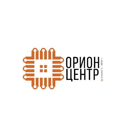 Real Estate Ad with Geometric Lines Icon Logo – шаблон для дизайна