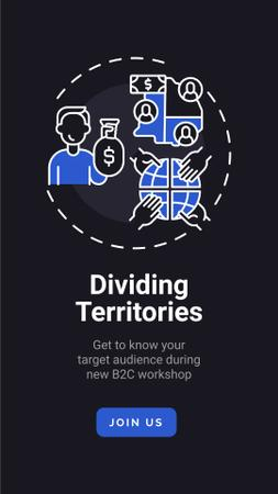 Marketing Audience research concept Instagram Story Tasarım Şablonu