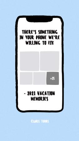 Ontwerpsjabloon van Instagram Story van Funny Offer of Travel Tours