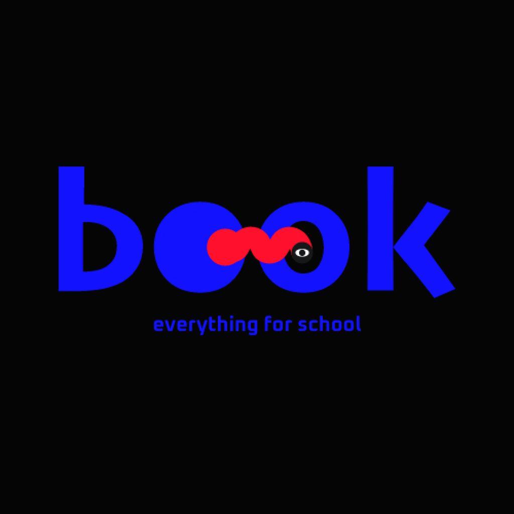 Back to School Bright Offer Logo – шаблон для дизайну
