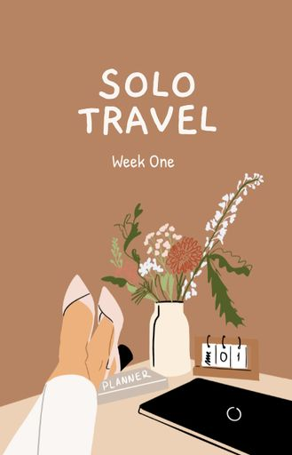 Travel Inspiration With Woman By Laptop
