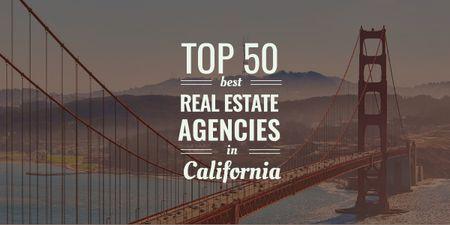 real estate agencies advertisement poster Image Design Template