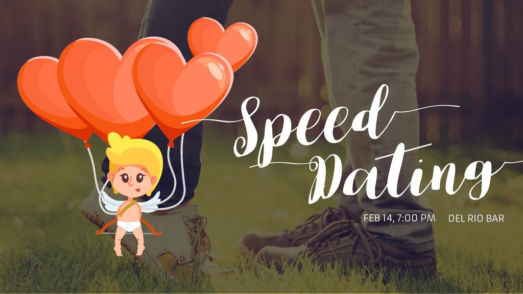 Valentine's Day Cupid by romantic Couple — Modelo de projeto