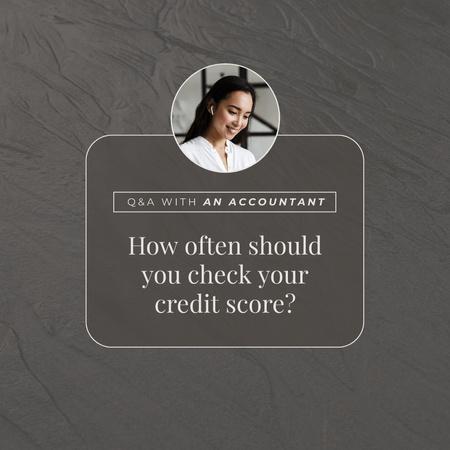 Ontwerpsjabloon van Instagram van Professional Accountant advice