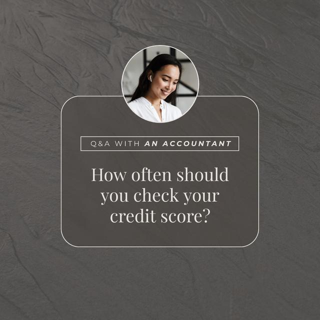 Professional Accountant advice Instagram Design Template