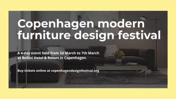 Modern furniture design festival