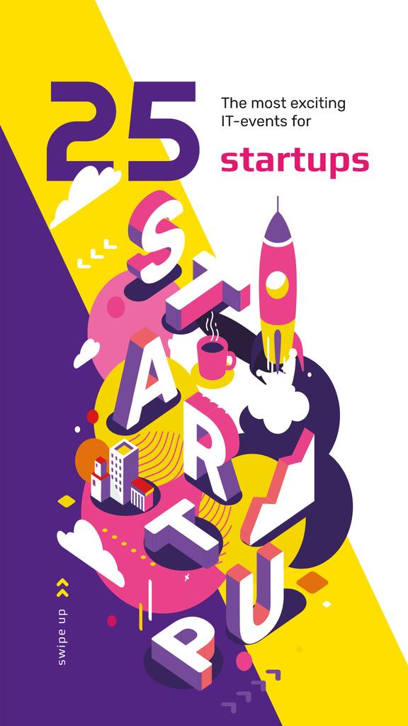 Business startup inscription — Create a Design