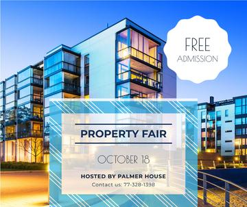 Property Fair Ad Modern House Facade