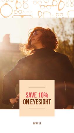 Eyesight Day Special Discount Offer Instagram Storyデザインテンプレート
