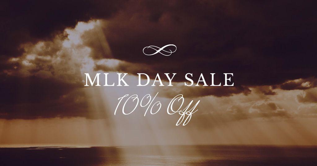MLK Day Discount Offer — Crear un diseño