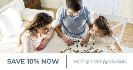 Family Therapy Center offer Facebook AD – шаблон для дизайну