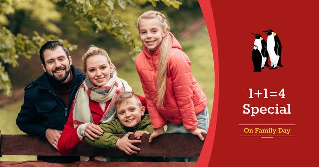 Family Day Special Offer Facebook AD – шаблон для дизайну