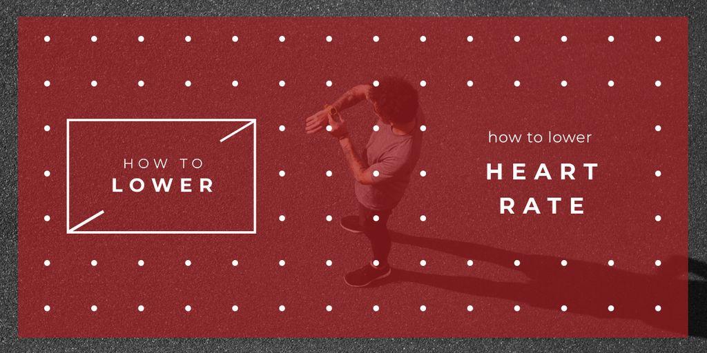 Runner checking his watch — Створити дизайн