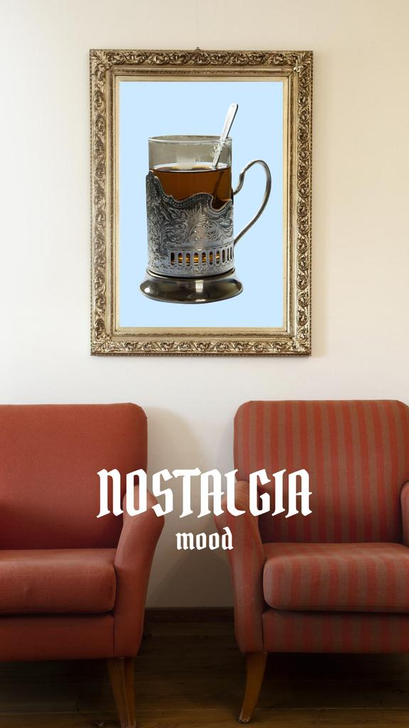 Plantilla de diseño de Nostalgic Mood with vintage furnishing Instagram Story