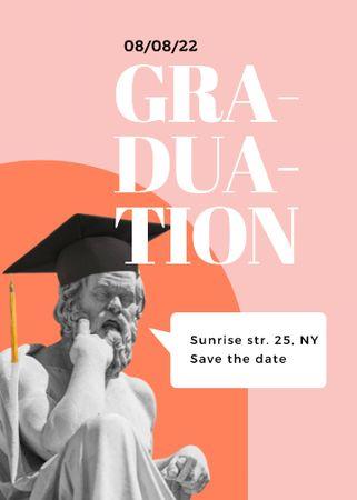 graduation Invitation Modelo de Design