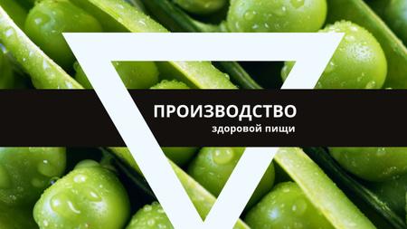 Green apples in rows Youtube – шаблон для дизайна