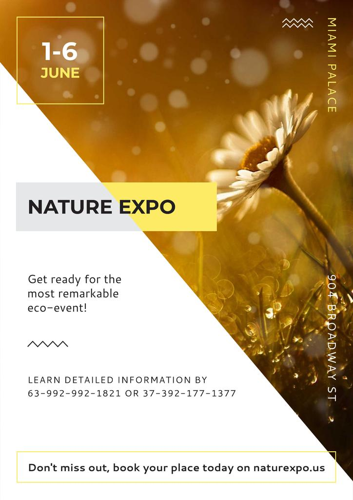 Nature Expo Annoucement — Crear un diseño