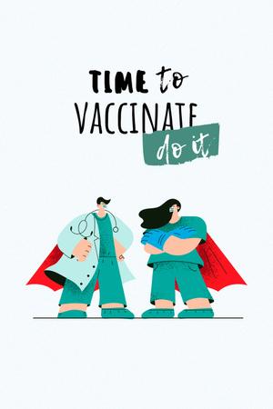 vaccinate Pinterest – шаблон для дизайна