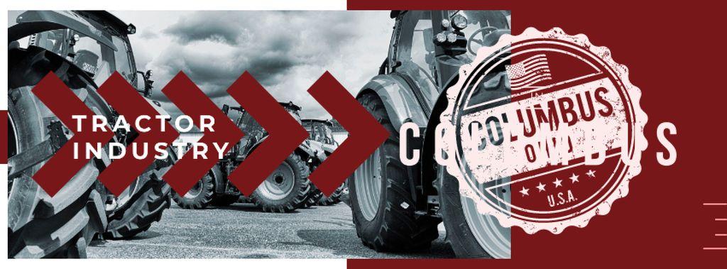 Tractors working in field — Crear un diseño