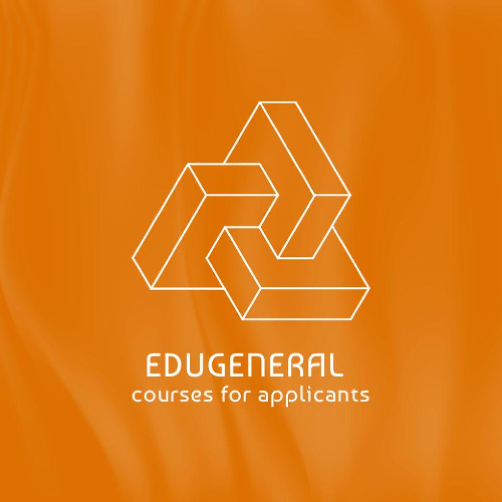 Educational Courses Offer Logo – шаблон для дизайну