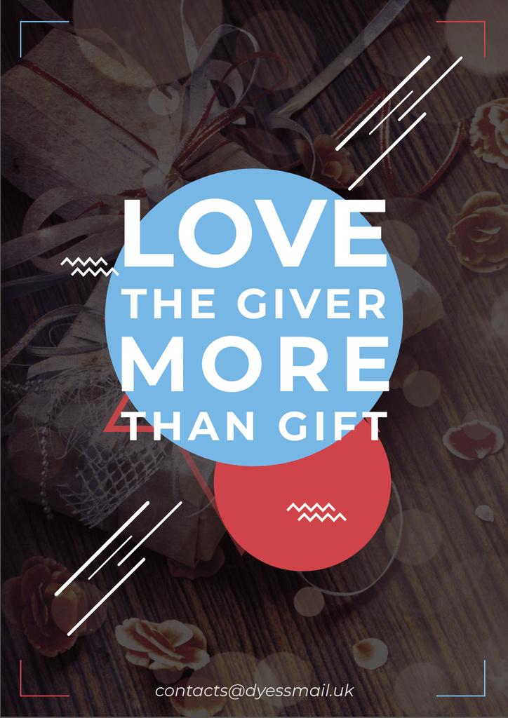 Love Citation with Gifts — Создать дизайн