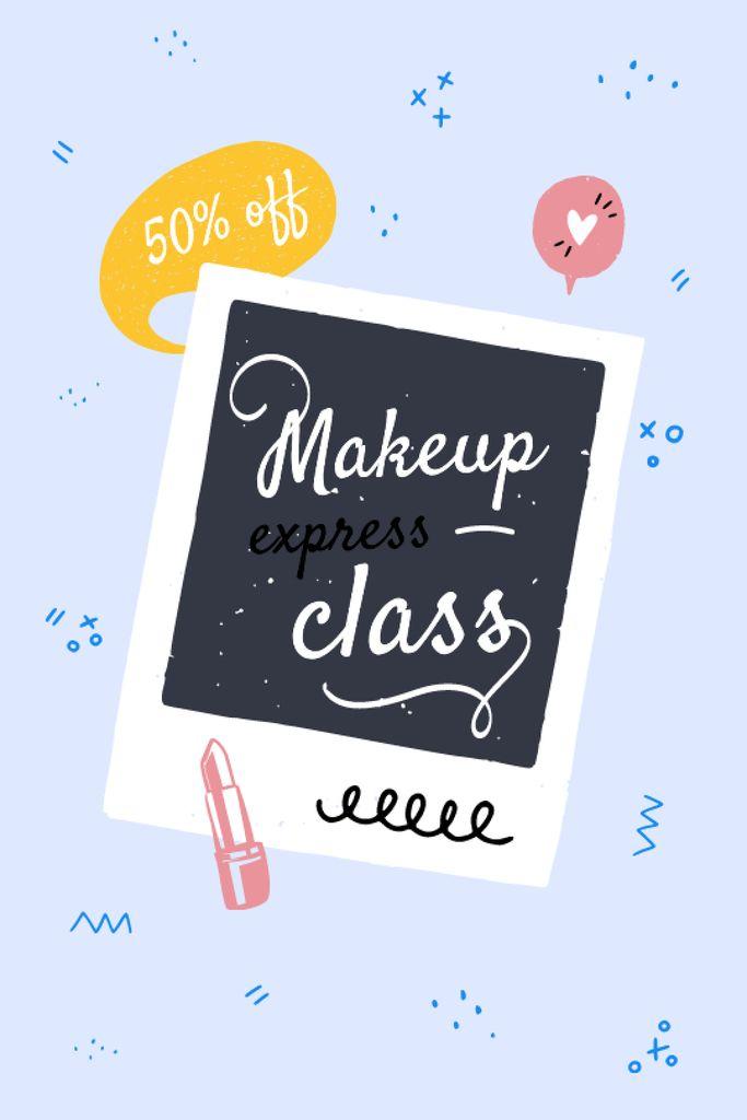 Makeup express Class promotion Tumblr Design Template