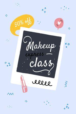 Makeup express Class promotion Tumblr tervezősablon