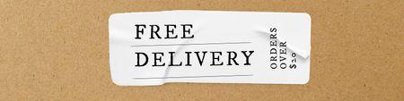 Delivery services promotion Twitter – шаблон для дизайну