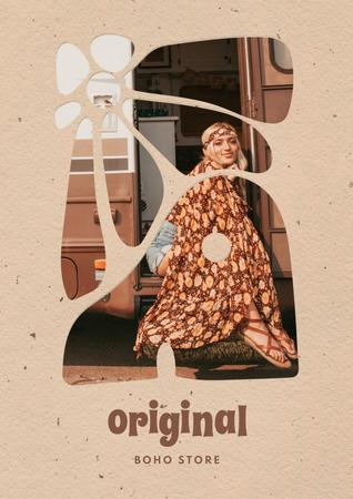 Design template by Crello Poster – шаблон для дизайну
