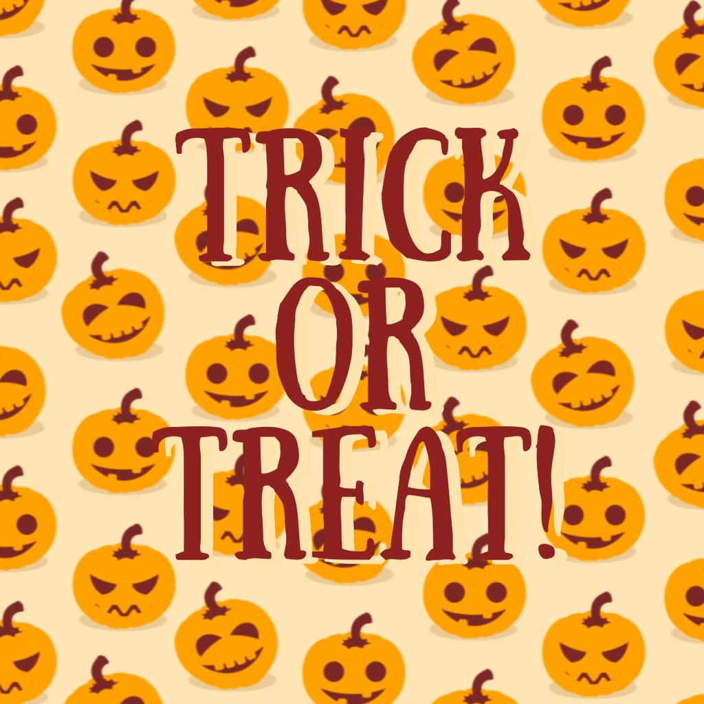 Trick Or Treat Halloween Pumpkins — Maak een ontwerp
