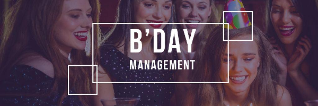 Birthday party Invitation — Crea un design