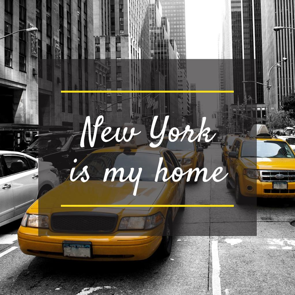 New York with Cabs — Crear un diseño