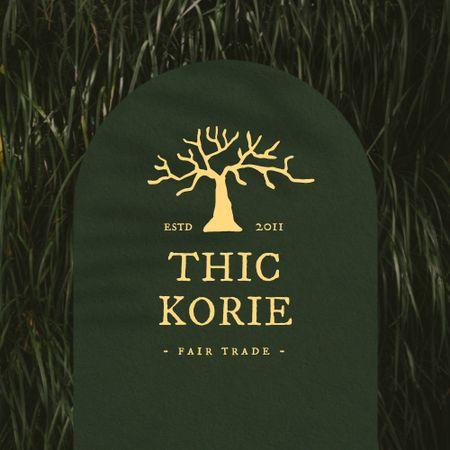 Fair Announcement with Tree Illustration Logo – шаблон для дизайну