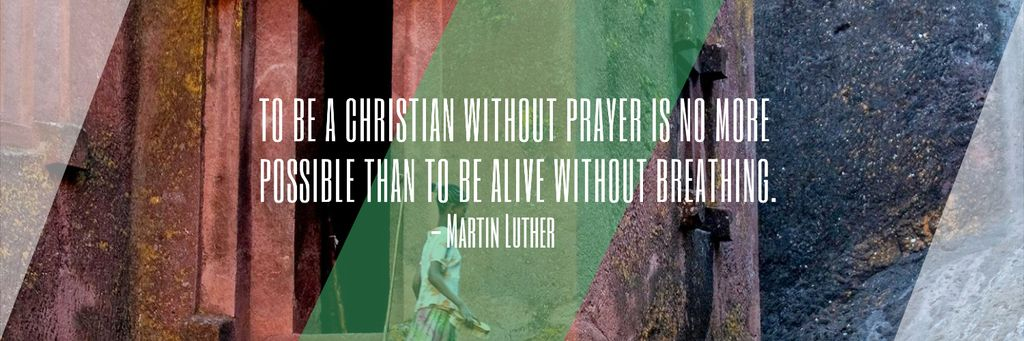 Religion citation about Christian faith — Maak een ontwerp
