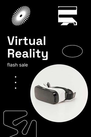 Modèle de visuel VR Equipment Flash Sale Ad - Pinterest
