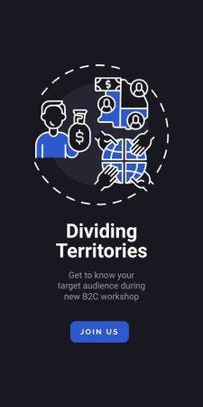 Modèle de visuel Marketing Audience research concept - Graphic