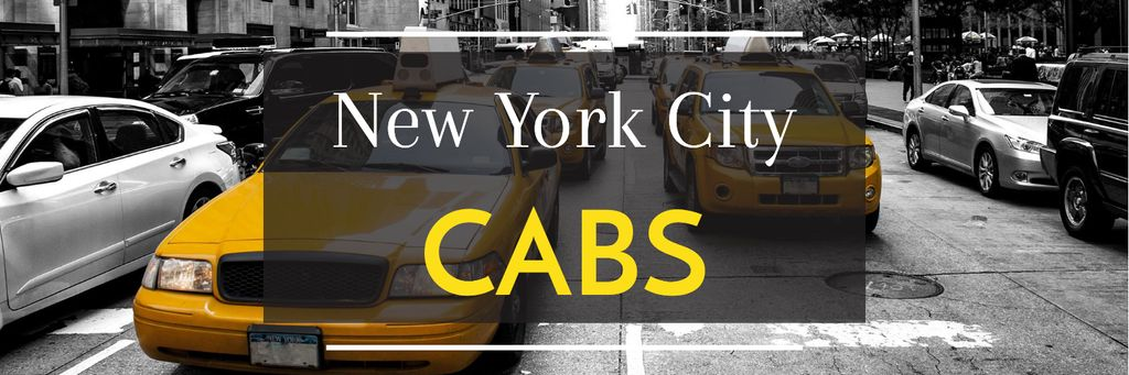 Taxi Cars in New York — Создать дизайн