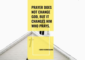 Religion citation about prayer