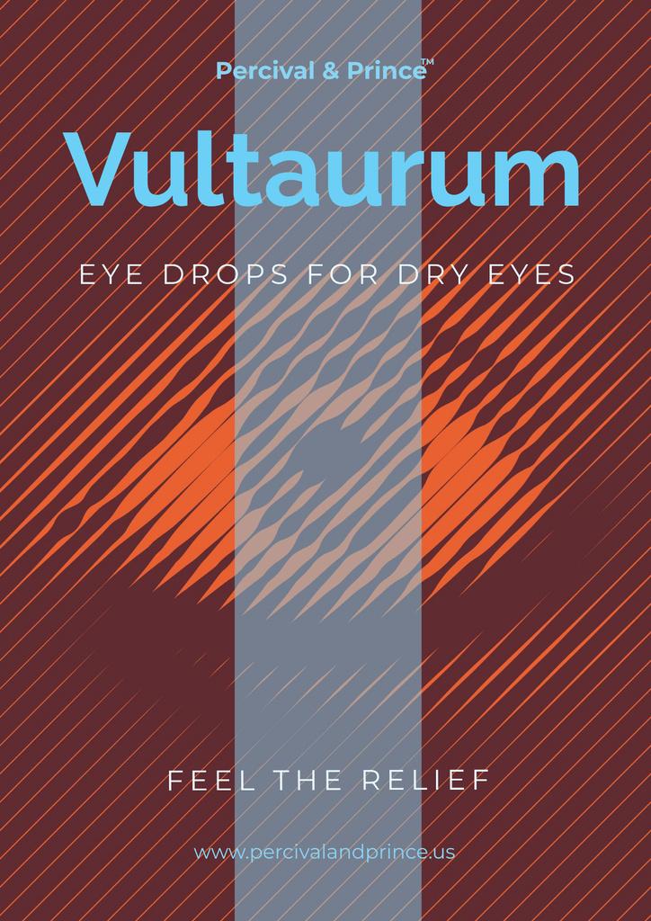 Eye drops advertisement — Créer un visuel
