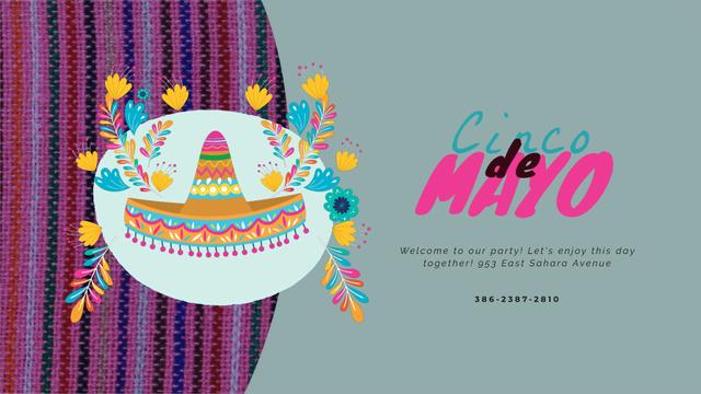 Cinco de Mayo Mexican holiday Full HD video – шаблон для дизайну