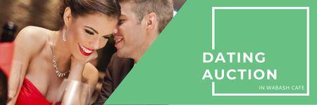 Dating Auction in Wabash Cafe Twitter – шаблон для дизайна