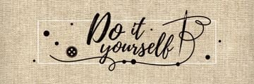 Do it yourself inspirational banner